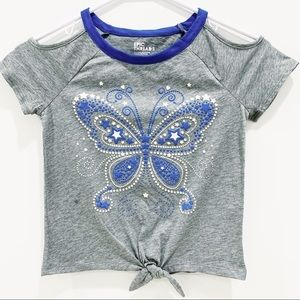 Epic Threads Cold Shoulder Butterfly & Stars Tee